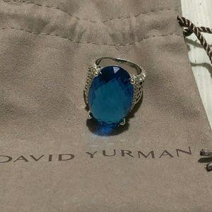 David yurman sterling silver 25 Oval wheaton 26x16
